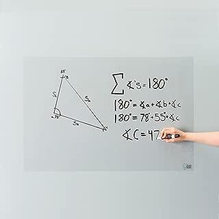 Think Board Clear Self-Adhesive Whiteboard Wall Sticker, 24