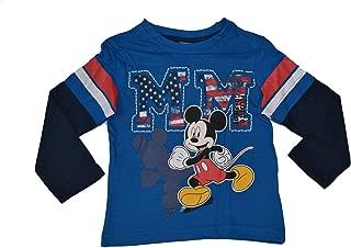 Mickey Mouse /& Donald Duck Chemise manches longues bleu gris Disney Baby Garçon 80,86,98
