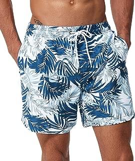 SILKWORLD Men's Short Swim Trunks Quick Dry Beach Bathing...