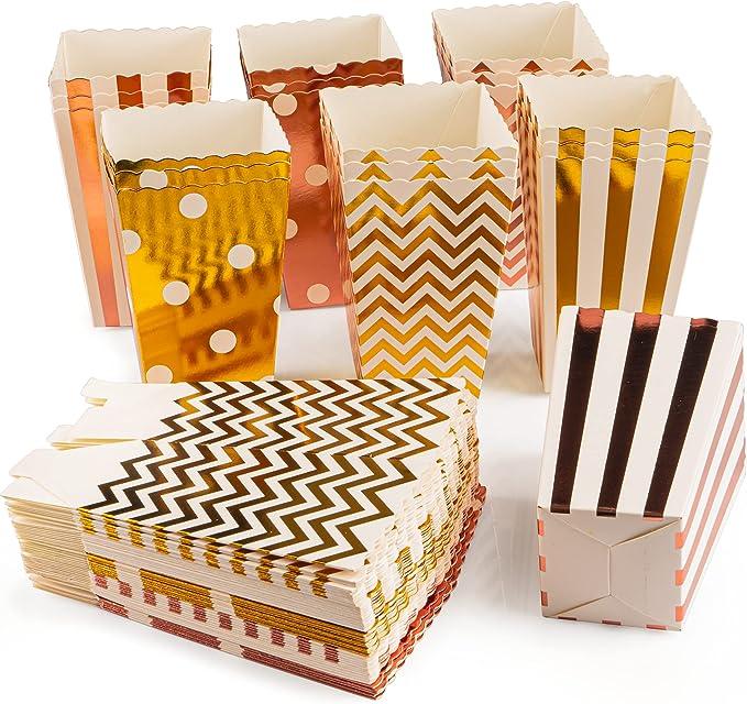 264 opinioni per VIBIRIT 54 sacchetti per popcorn e caramelle, per caramelle, per feste,