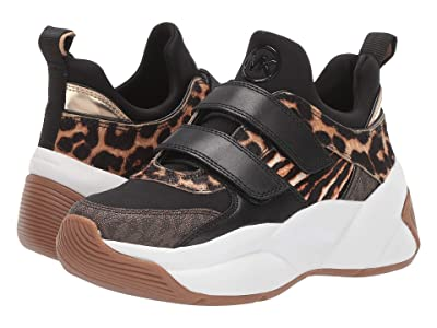 MICHAEL Michael Kors Keeley Trainer (Dark Camel) Women