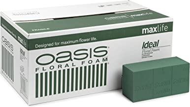 Oasis Ideal Floral Foam Maxlife Brick (Box contains 20 bricks)