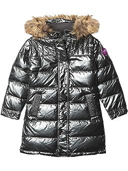 Nununu Down Bomber Coat for Kids Black NU2006B