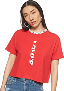 Levi's Womens 742280001 LE SS TEE
