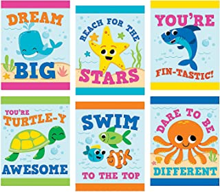 Fun Express Under The Sea Ocean Posters (6 Piece Set) Educational Classroom Decorations