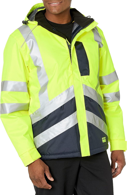 Caterpillar Men's Hi-vis Waterproof Jacket