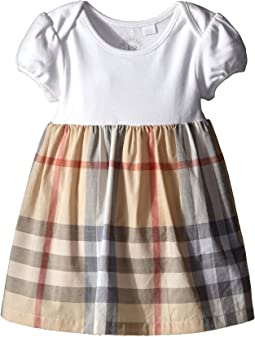 850f8242ece6 Burberry kids sweater top check skirt dress infant toddler
