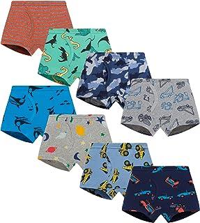 Sponsored Ad - Finihen Little Boys Cotton Brief Soft Comfort Toddler Underwear Multipack