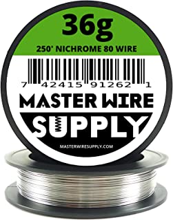 Nichrome 80 - 250' - 36 Gauge Resistance Wire