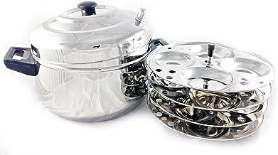 أواني الطهي أو الطهي بالبخار من الفولاذ المقاوم للصدأ من بترفلاي كيرف – 40.64 سم