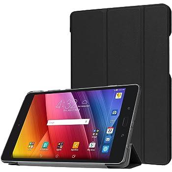 ProCase Verizon ASUS ZenPad Z8s Case, Slim Stand Hard Shell Case Smart Cover for Asus Zenpad Z8s ZT582KL ASUS-P00J 4G LTE Tablet (2017 Released) -Black