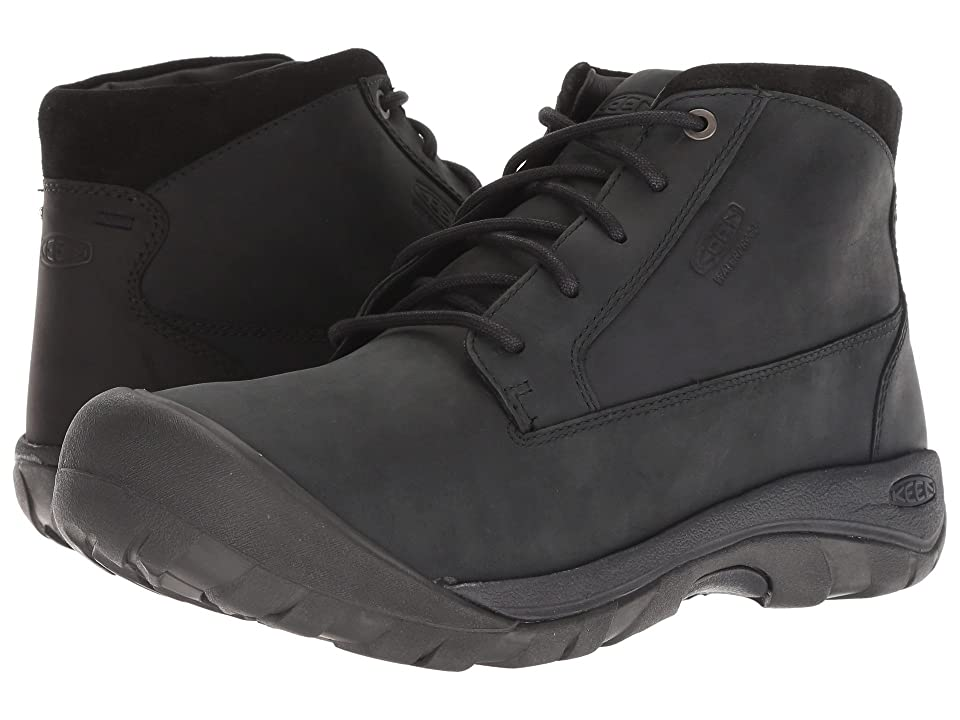 Keen Austin Casual WP Boot (Black) Men