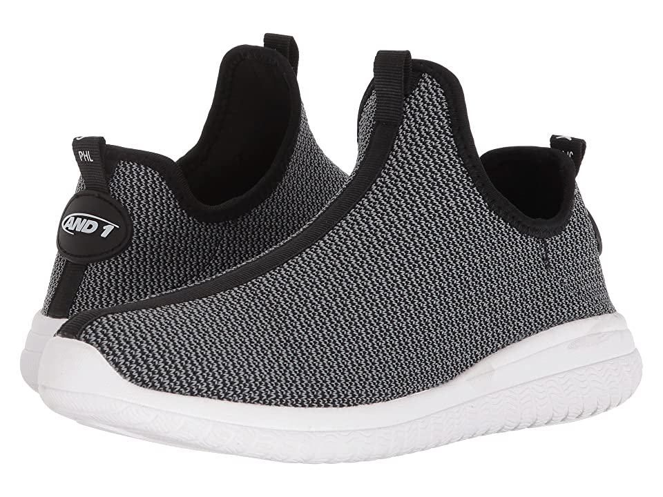 AND1 Too Chillin Too (Charcoal Knit/Black/White) Men