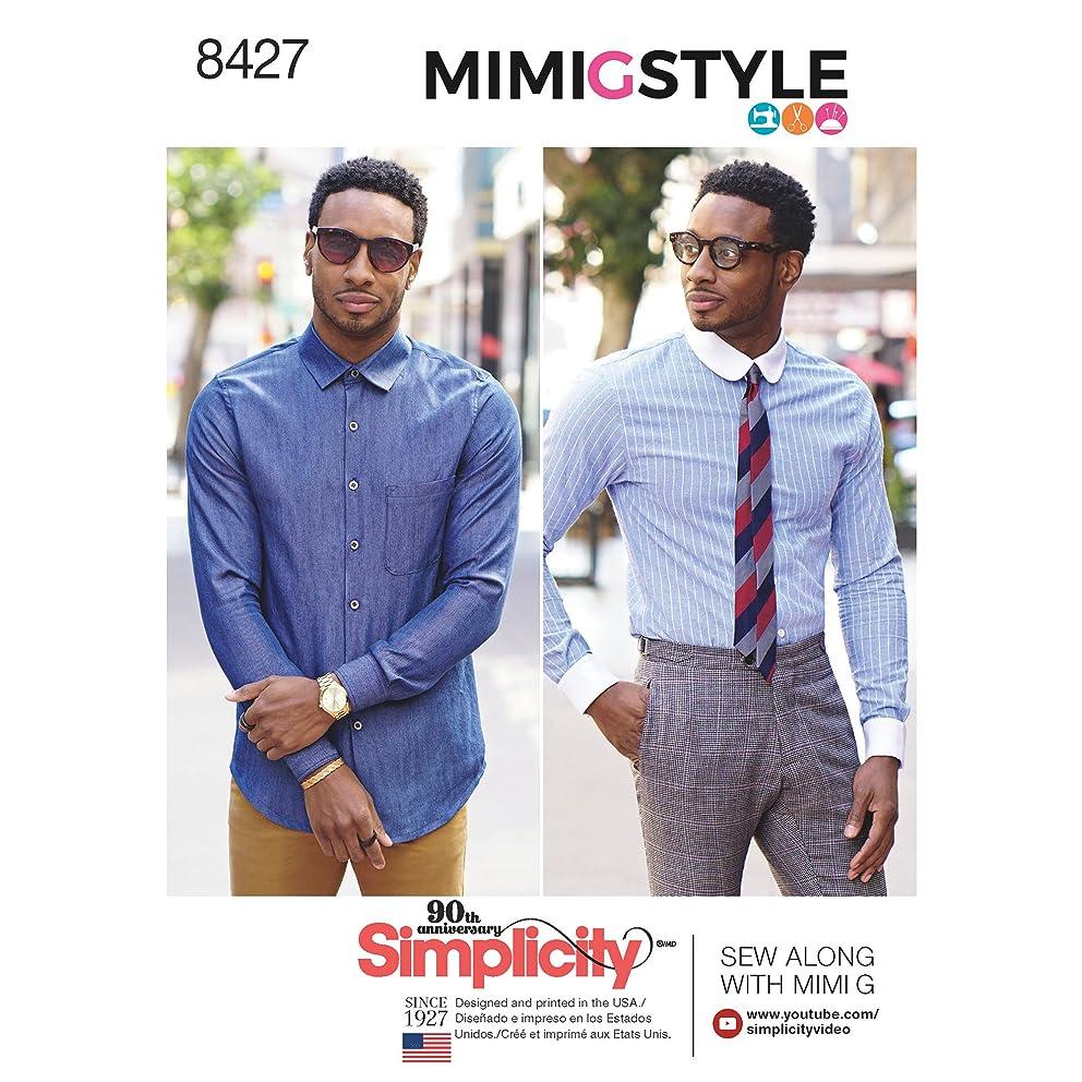 Simplicity Creative Patterns US8427BB Men & Boys, BB (44-46-48-50-52)
