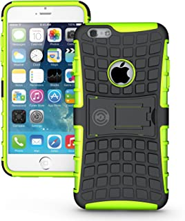 iPhone 6s Plus Case, iPhone 6 Plus 6s Plus Case by Cable And Case | iPhone 6 Plus Protective Case | iPhone 6s Plus Protective Case | iPhone 6s Plus Phone Case | Apple iPhone 6 Plus Case (Green)