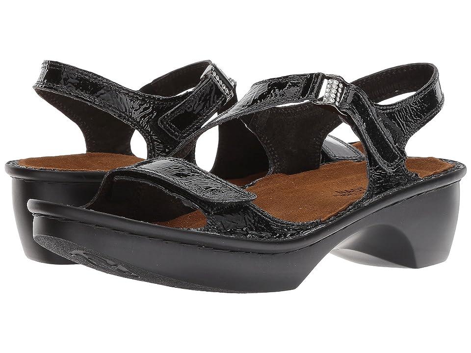 Naot Faso (Black Patent Leather) Women