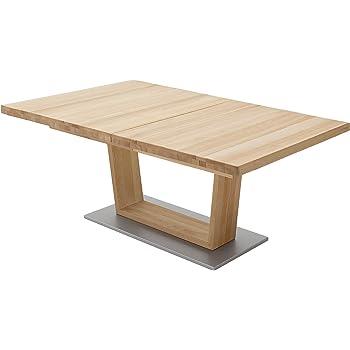 Robas Lund Tisch Esstisch Säulentisch Bari ausziehbar