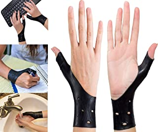 EXCELYFE Waterproof Gel Wrist and Thumb Support Stabilizer Braces for Right and Left Hand | Wraps Relieve Pain Including Arthritis, Rheumatism, Carpal Tunnel | Also Great Protector When Playing Sports