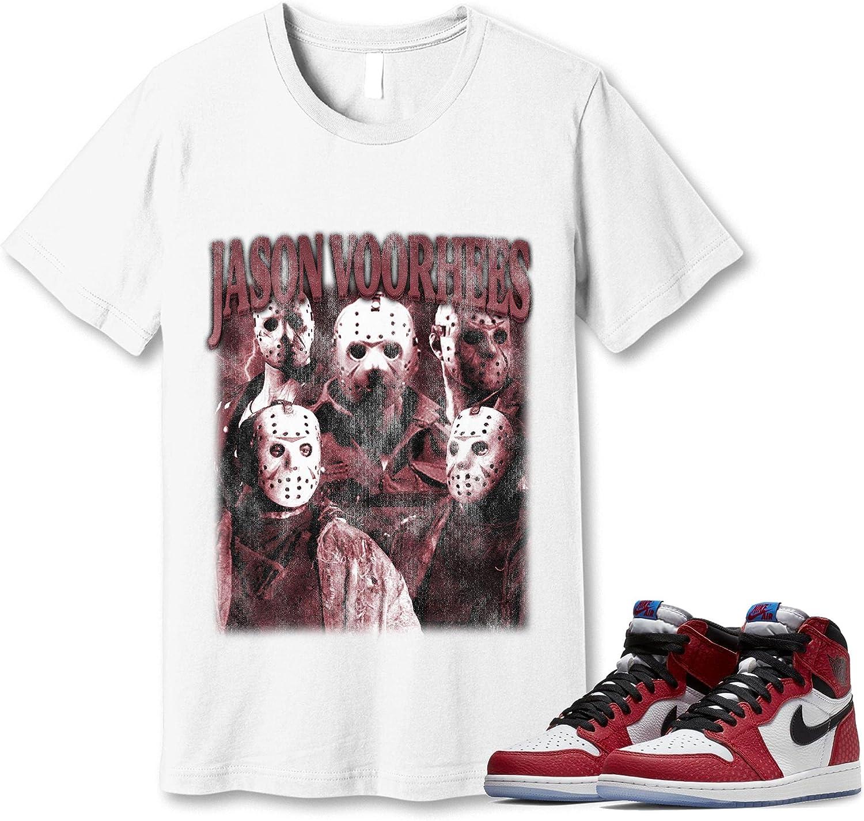 70% OFF Outlet #Jason #Voorhees Soldering Shirt to Match Sneaker 1#Spider-Man Jordan Gift