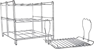 KOVOT 3-Tier Collapsible Oven Rack & Turkey Lifter Roasting Rack | Space Saving Oven Rack For Multiple Roasting And Baking Tasks | Includes (1) Oven Rack & (1) Turkey Lifter
