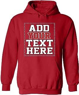 custom made hooded sweatshirts