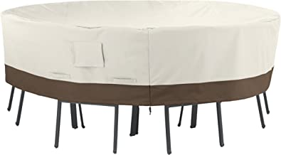 AmazonBasics Round Table and Chair Set Patio Cover - Large