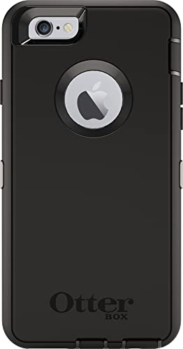 OtterBox DEFENDER iPhone 6/6s Case - Frustration Free Packaging - BLACK