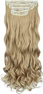 Best long blonde clip in hair extensions Reviews