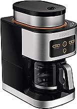KRUPS KM550D50 Personal Café Grind Drip Coffee Maker, 4 Cups, Silver