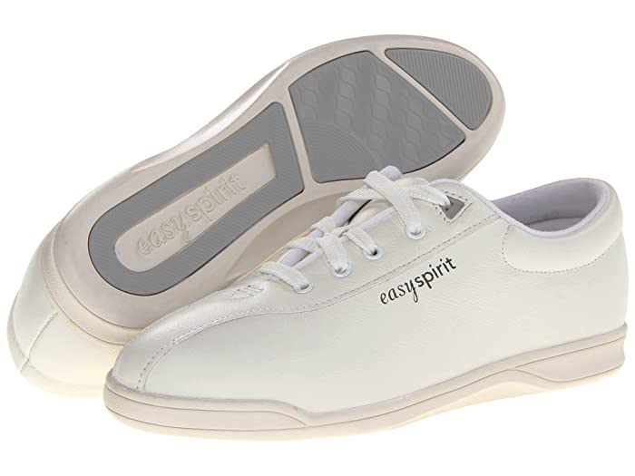 Easy Spirit  AP1 (White Leather) Womens Lace up casual Shoes