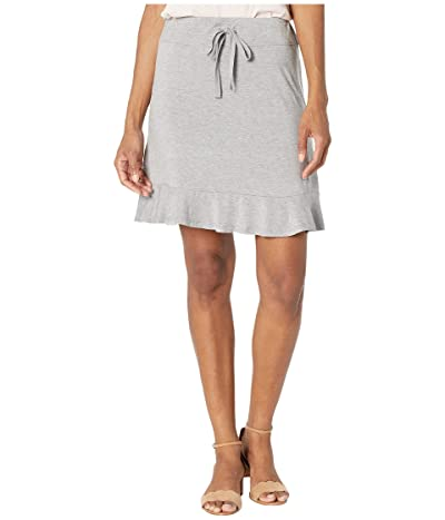 Tribal Ruffle Skort (Grey Mix) Women
