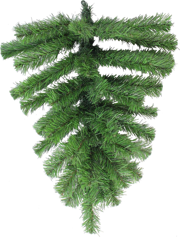 Northlight Price reduction Japan Maker New Colorado Spruce Artificial G Christmas Teardrop Swag
