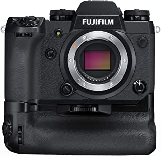 Fujifilm X-H1 - Cámara Digital sin Espejo (Kit con empuñadura Vertical 24.3 MP 4K/30p) Color Negro