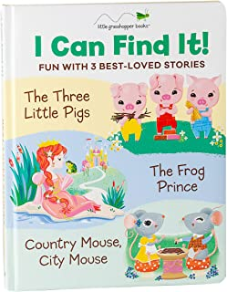 I Can Find It! Fun with 3 Best-Loved Stories (Large Padded Board Book & 3 Downloadable Apps!): The Three Little Pigs, the ...