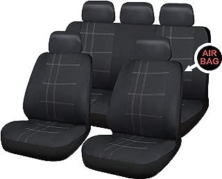 Set di coprisedili universali per furgoni Colore Nero Sakura SS3347