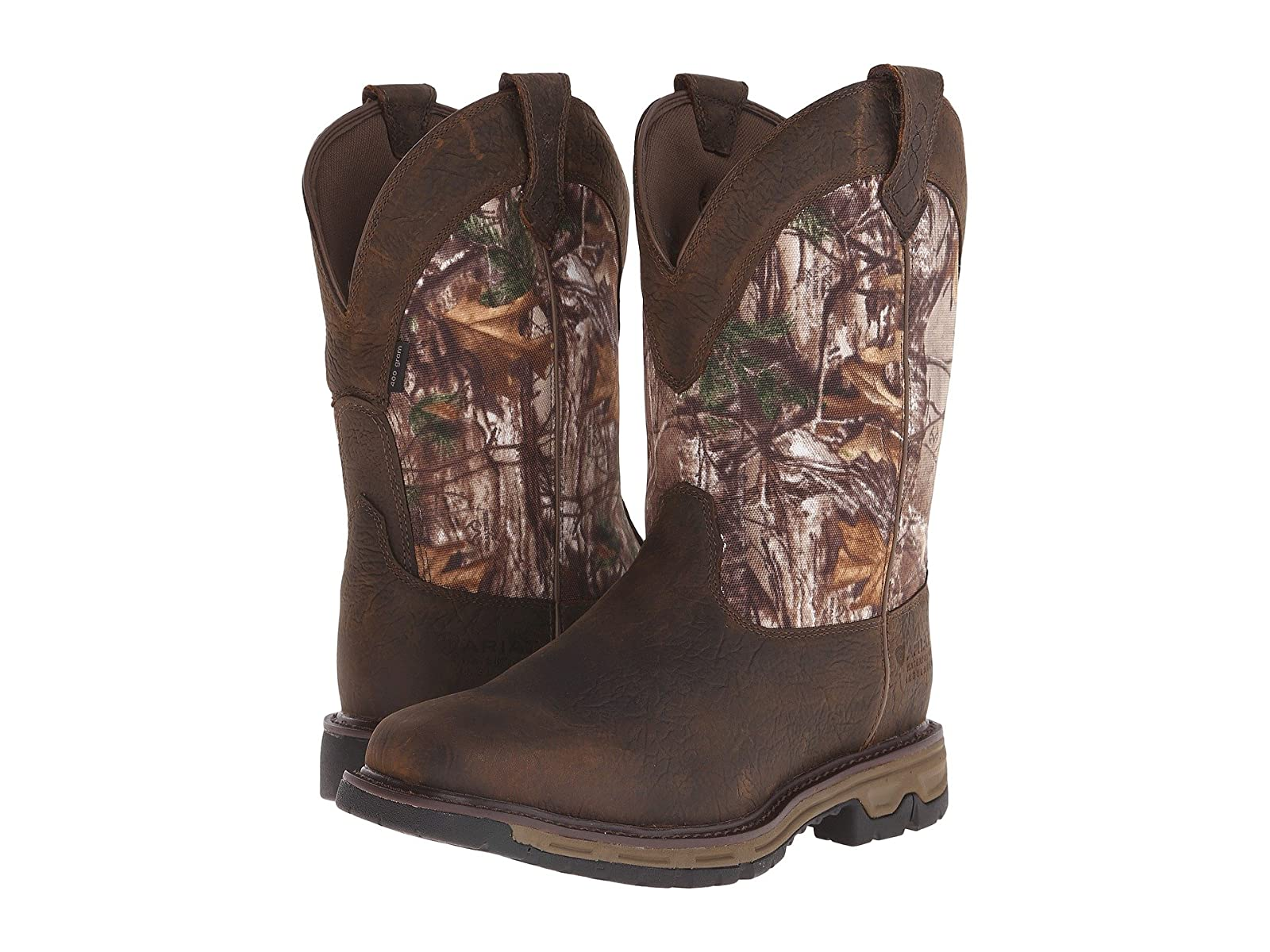 Ariat Conquest Pull-On H2O Insulated 400G 400G Insulated f97175