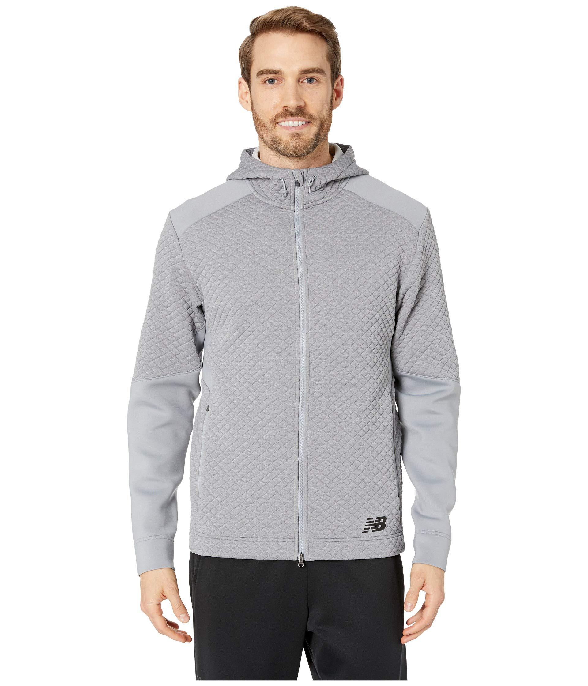 Athletic Grey Balance Full New Heatloft Zip Nb Hoodie ZAYqqUxPw