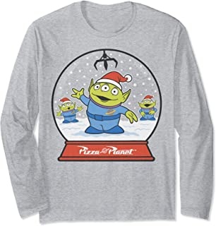 Pixar Toy Story Alien Claw Snowglobe Christmas Long Sleeve T-Shirt
