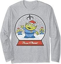Disney Pixar Toy Story Alien Claw Snowglobe Christmas Long Sleeve T-Shirt