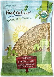 Organic Alfalfa Sprouting Seeds, 5 Pounds - Non-GMO, Kosher, Raw, Vegan, Bulk