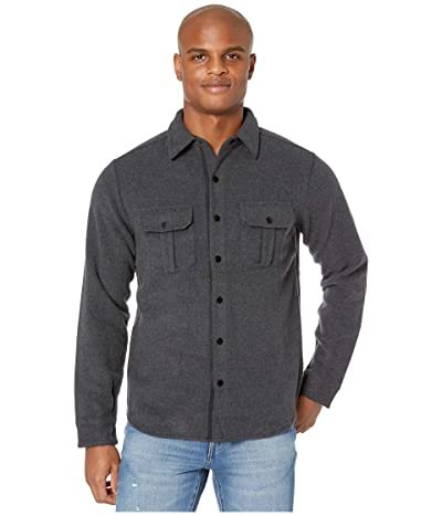 Smartwool Anchor Line Shirt Jacket (Charcoal Heather) Men