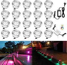 ELINKUME Dimmbare LED Stehleuchte Wei/ß Neues Upgrade Fernbedienung Funktion WPC Material Wohnzimmer Lampe Adjustble Farbtemperatur Schlafzimmer Licht Energiesparende Beleuchtung