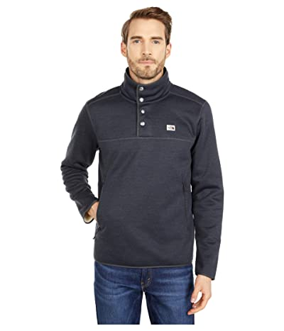 The North Face Sherpa Patrol 1/4 Snap Pullover (Asphalt Grey White Heather) Men