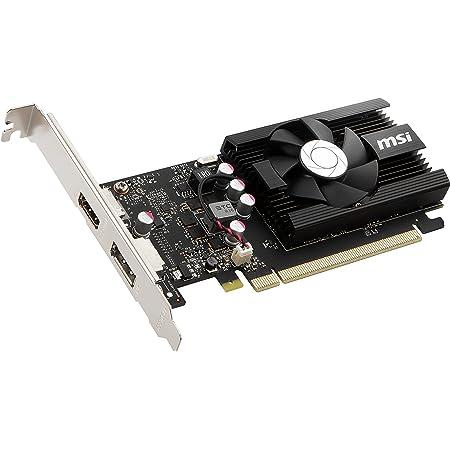 MSI GeForce GT 1030 2GD4 LP OC グラフィックスボード VD6606