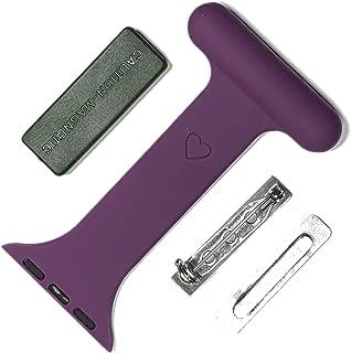 inurseya pin/Magnetic Nurse Watch for Apple Watch (Purple)