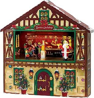 Mr. Christmas Animated Musical Advent House