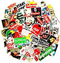 Popular Logo Supreme Sstickers Laptop Vinyl Stickers car sticker For Snowboard Motorcycle Bicycle Mac Computer Phone DIY Keyboard Car Window Bumper Wall Luggage Decal Graffiti Patches(supreme)