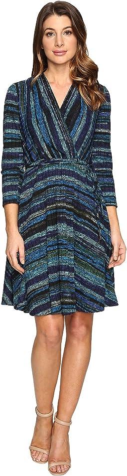 Riddle Wrap Dress