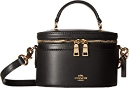 Refined Calf Leather Trail Bag