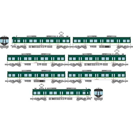 鉄道コレクション 鉄コレ 京阪電気鉄道13000系 7両セット C ジオラマ用品 (メーカー初回受注限定生産) 318309
